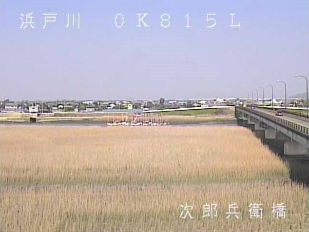 次郎兵衛橋から浜戸川