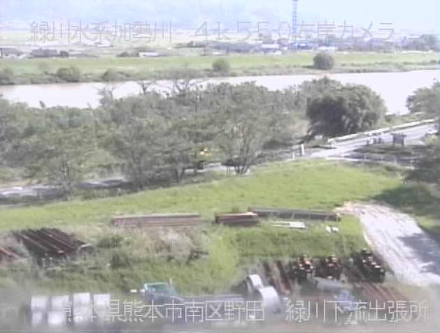 熊本河川国道事務所緑川下流出張所から加勢川