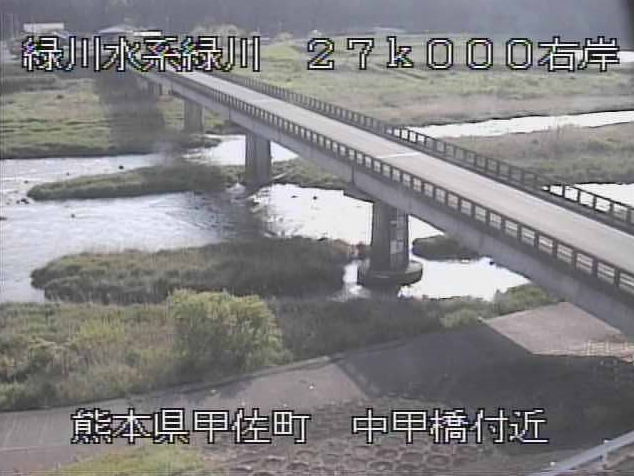 中甲橋から緑川
