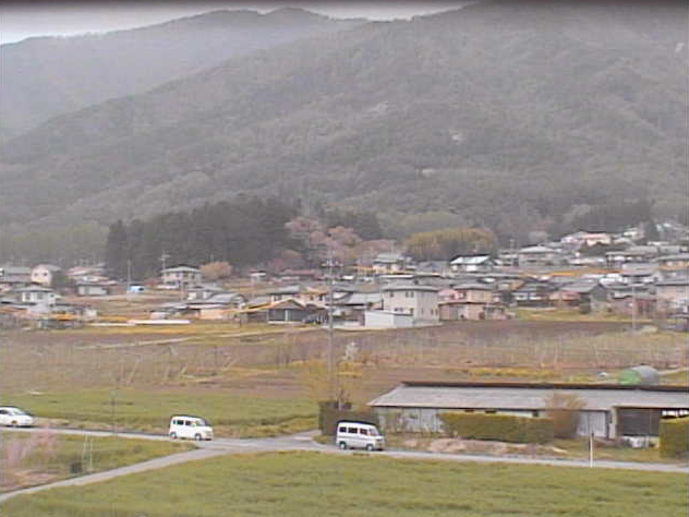 辰野南小学校から桑沢山方面