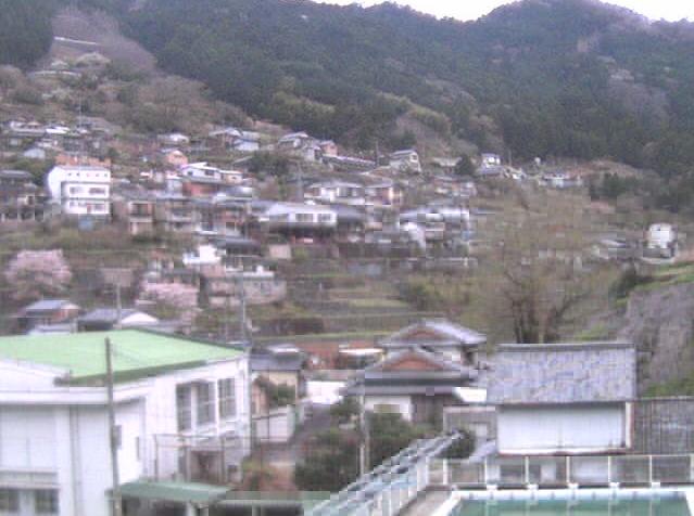 長者小学校から古城山・寺野方面・大いちょう