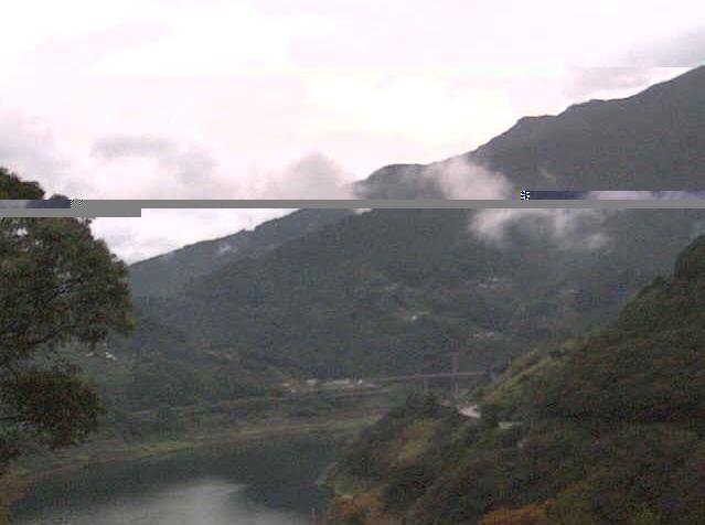 仁淀川町観光センターから大渡ダム周辺