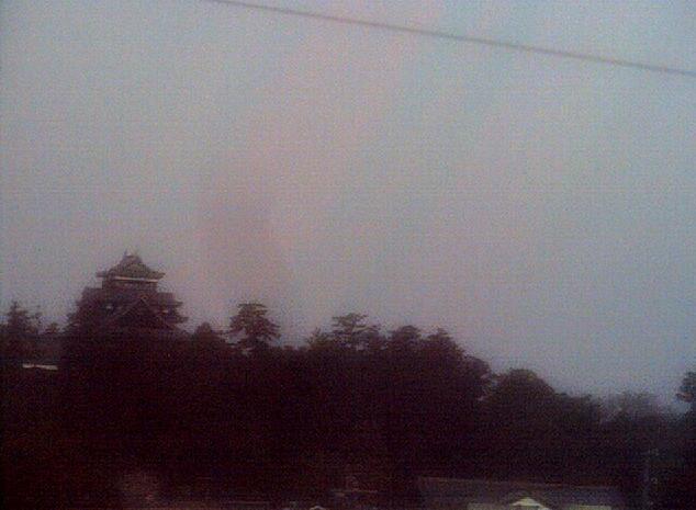 松江情報センターから松江城