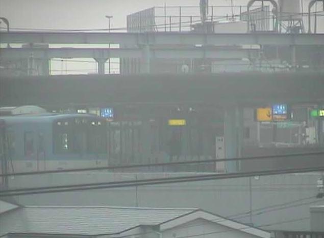 西淀川区佃から阪神電鉄本線・千船駅