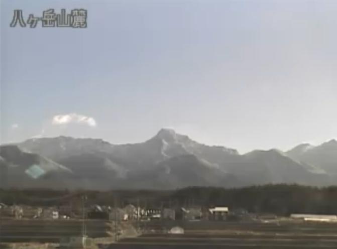 LCV八ヶ岳ライブカメラ(長野県茅野市玉川)