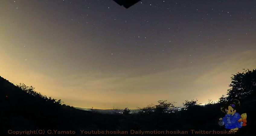 神野山星空夜景天体観測