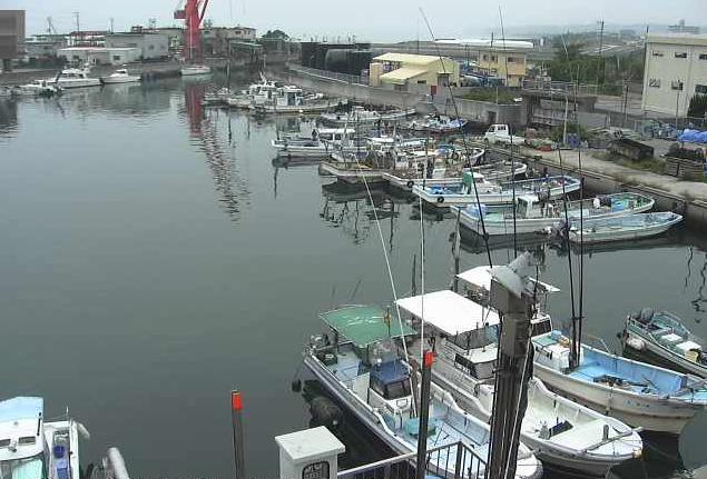 湊から湊港が見えるライブカメラ。