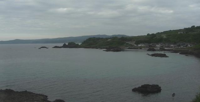 木流から日本海が見えるライブカメラ。