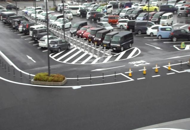 岡崎サービスエリア(岡崎SA)上りから新東名高速道路
