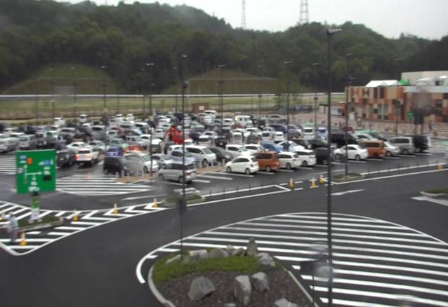 岡崎サービスエリア(岡崎SA)下りから新東名高速道路