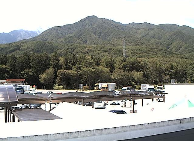 中央自動車道駒ヶ岳サービスエリアライブカメラ(長野県駒ヶ根市赤穂)