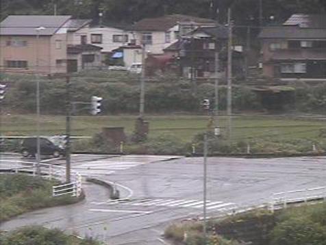 魚沼市役所堀之内庁舎から堀之内庁舎前交差点・国道17号・国道252号が見えるライブカメラ。