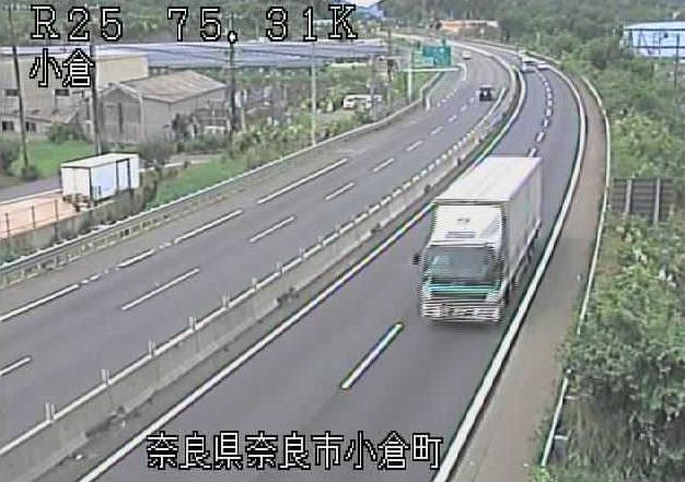 小倉から名阪国道(国道25号バイパス)が見えるライブカメラ。