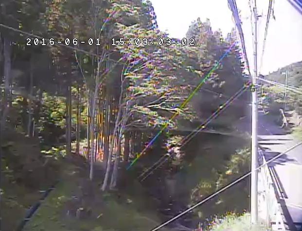 高取橋付近から武茂川・栃木県道321号南方須佐木線が見えるライブカメラ。