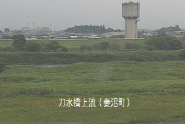 利根川刀水橋上流ライブカメラは、埼玉県熊谷市妻沼台の刀水橋上流に設置された利根川が見えるライブカメラです。