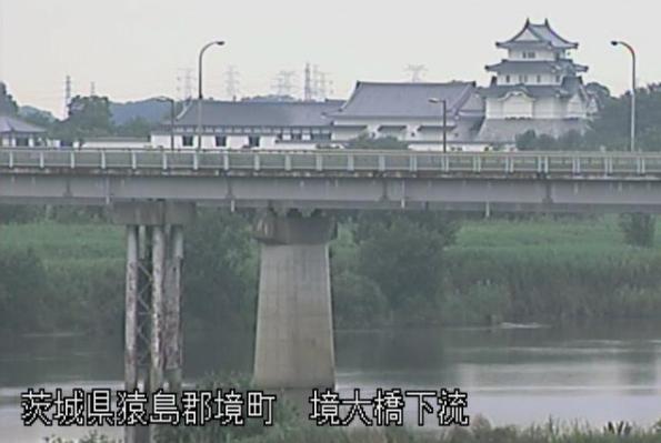 利根川境大橋下流ライブカメラは、茨城県境町の境大橋下流に設置された利根川が見えるライブカメラです。