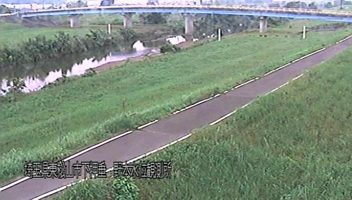 都幾川野本水位観測所ライブカメラは、埼玉県東松山市下押垂の野本水位観測所に設置された都幾川が見えるライブカメラです。