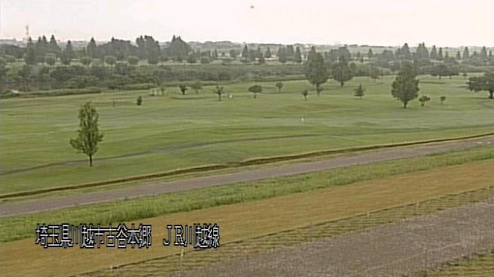 荒川JR川越線鉄橋付近ライブカメラは、埼玉県川越市古谷本郷のJR川越線鉄橋付近に設置された荒川が見えるライブカメラです。