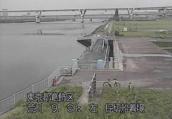 荒川堀切船着場ライブカメラは、東京都葛飾区堀切の堀切船着場に設置された荒川が見えるライブカメラです。