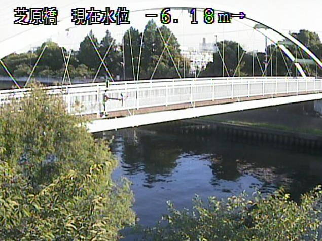 新河岸川芝原橋ライブカメラは、東京都板橋区高島平の芝原橋に設置された新河岸川が見えるライブカメラです。