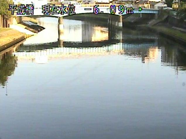 新河岸川平成橋ライブカメラは、東京都板橋区舟渡の平成橋に設置された新河岸川が見えるライブカメラです。