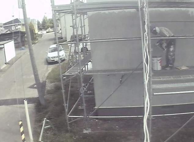 エボホーム現場中継第1ライブカメラは、北海道北見市豊地の施工中現場に設置された現場中継が見えるライブカメラです。
