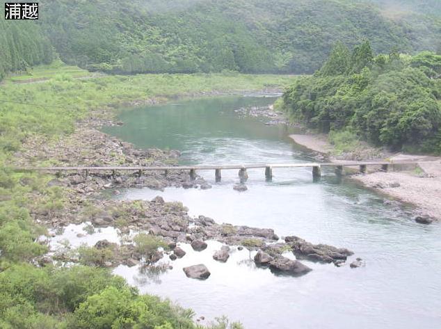 四万十川浦越ライブカメラは、高知県四万十町の浦越に設置された四万十川が見えるライブカメラです。