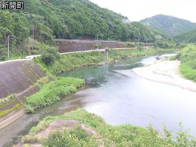 四万十川新開町ライブカメラは、高知県四万十町の新開町に設置された四万十川が見えるライブカメラです。