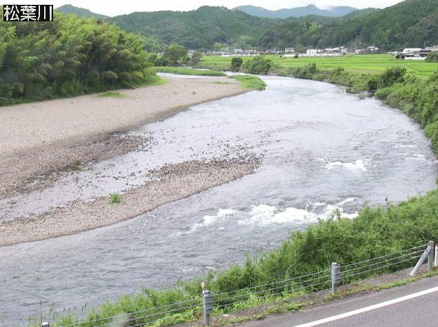 四万十川松葉川ライブカメラは、高知県四万十町七里の松葉川に設置された四万十川が見えるライブカメラです。