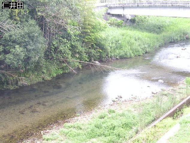 仁井田川仁井田ライブカメラは、高知県四万十町の仁井田に設置された仁井田川が見えるライブカメラです。