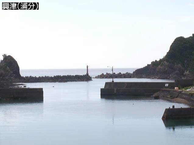興津浦分ライブカメラは、高知県四万十町興津の浦分に設置された浦分漁港・土佐湾が見えるライブカメラです。