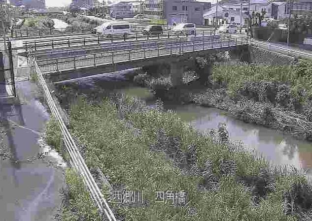 西郷川四角橋ライブカメラは、福岡県福津市日蒔野の四角橋に設置された西郷川が見えるライブカメラです。