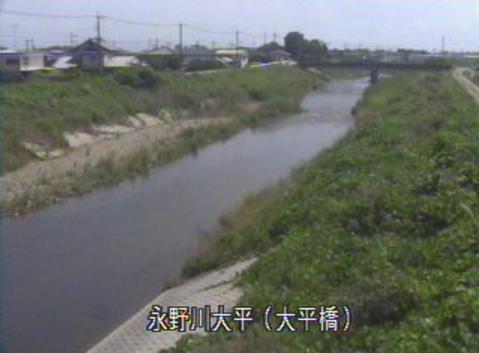 永野川大平橋ライブカメラは、栃木県栃木市大平町の大平橋に設置された永野川が見えるライブカメラです。