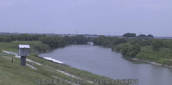 江戸川西関宿水位観測所ライブカメラは、埼玉県幸手市西関宿の西関宿水位観測に設置された江戸川が見えるライブカメラです。