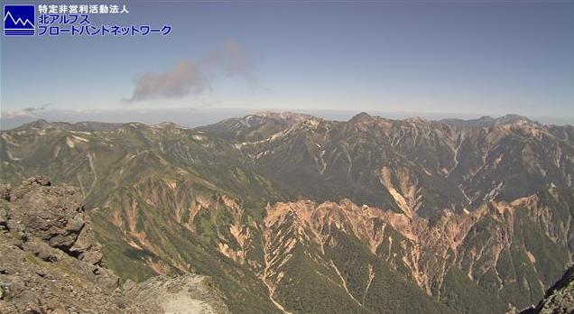槍ヶ岳山荘飛騨越中の山々ライブカメラは、長野県松本市埋橋の槍ヶ岳山荘に設置された飛騨越中の山々が見えるライブカメラです。