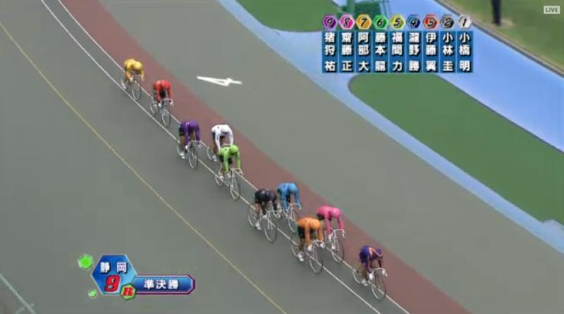 ライブ 松山 競輪 ミッドナイト競輪 レース映像