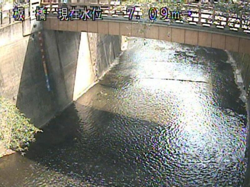 石神井川板橋ライブカメラ(東京都板橋区仲宿)