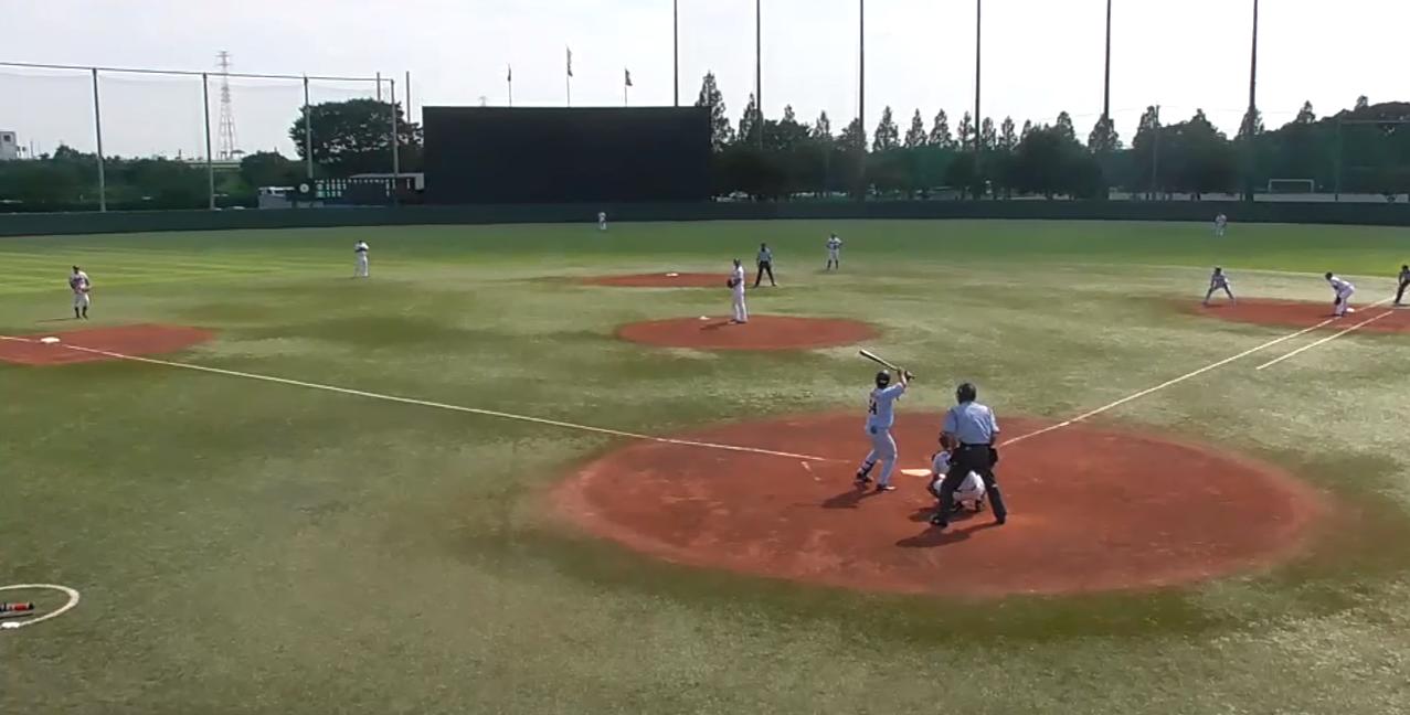 戸田球場東京ヤクルトスワローズ主催イースタンリーグ公式戦バックネットライブカメラ