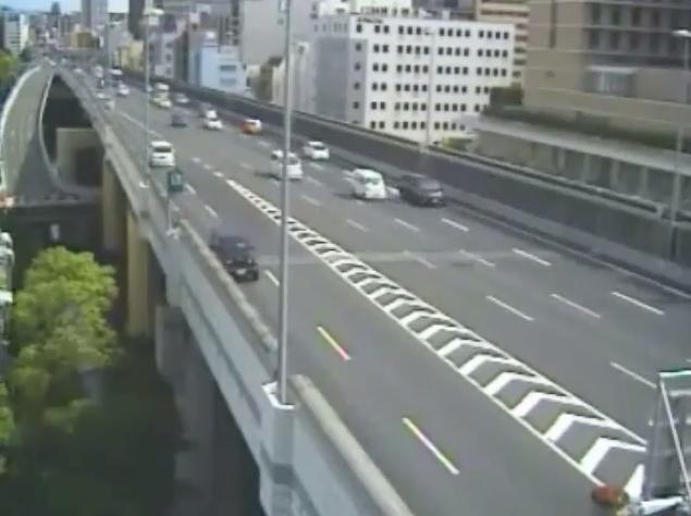 阪神高速1号環状線高麗橋付近ライブカメラ
