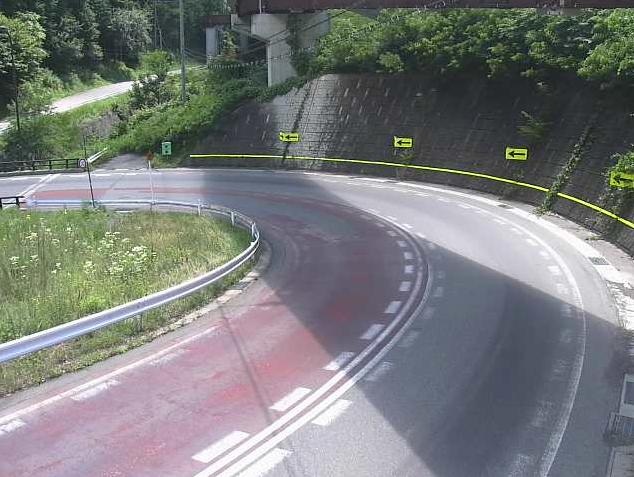 国道361号神谷ランプ1ライブカメラは、長野県木曽町日義神谷の神谷ランプ1に設置された国道361号が見えるライブカメラです。