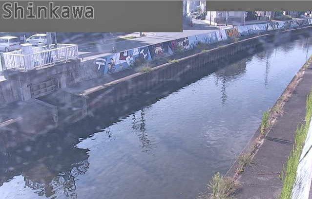 新川四郎五郎橋ライブカメラは、静岡県浜松市中区の四郎五郎橋に設置された新川が見えるライブカメラです。