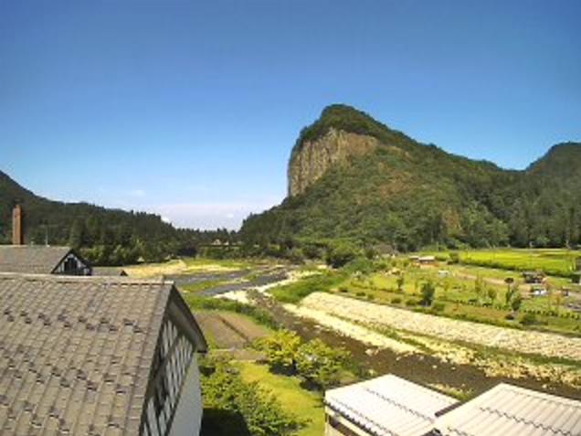 いい湯らてい五十嵐川駒出川合流地点ライブカメラは、新潟県三条市南五百川のいい湯らていに設置された五十嵐川駒出川合流地点が見えるライブカメラです。