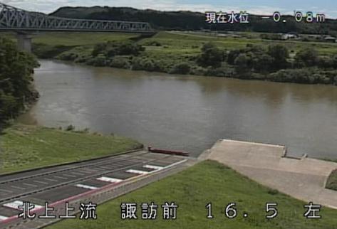 北上川諏訪前ライブカメラは、岩手県一関市川崎町薄衣の諏訪前に設置された北上川が見えるライブカメラです。
