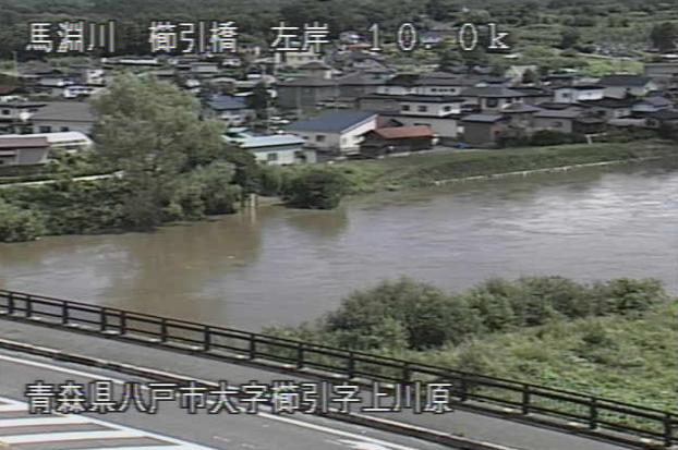 馬淵川櫛引橋ライブカメラは、青森県八戸市櫛引の櫛引橋に設置された馬淵川が見えるライブカメラです。