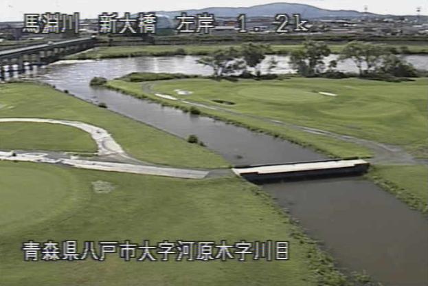 馬淵川新大橋ライブカメラは、青森県八戸市河原木の新大橋に設置された馬淵川が見えるライブカメラです。