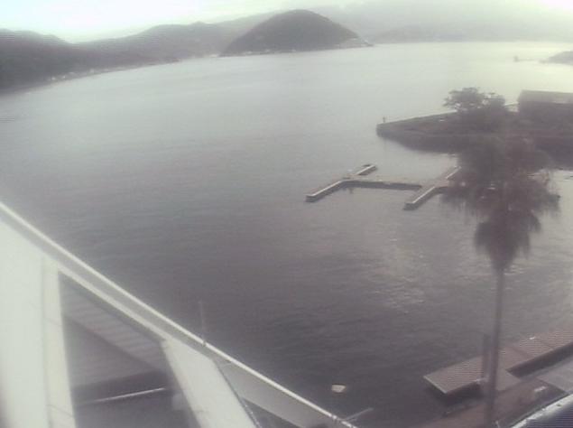 ヤマハマリーナ沼津から内浦湾が見えるライブカメラ。