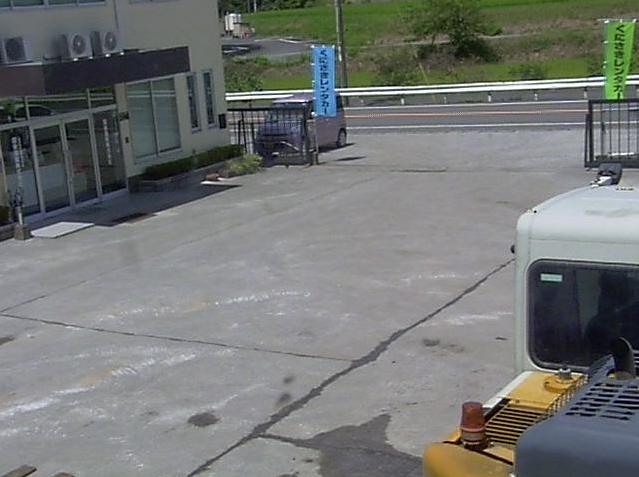 国東重販本社第2ライブカメラは、大分県杵築市狩宿の国東重販本社に設置された建設機械・国道213号(杵築沿海路)が見えるライブカメラです。