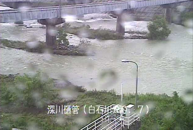 阿武隈川深川排水樋管ライブカメラは、宮城県柴田町下名生の深川排水樋管に設置された阿武隈川が見えるライブカメラです。