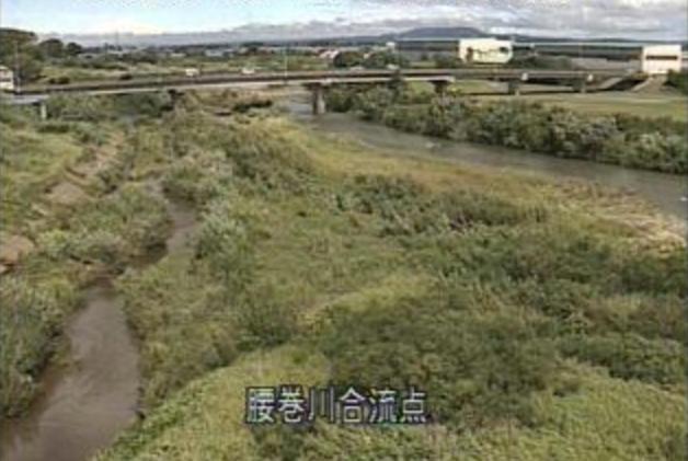 平川腰巻川合流点ライブカメラは、青森県弘前市境関の腰巻川合流点に設置された平川が見えるライブカメラです。