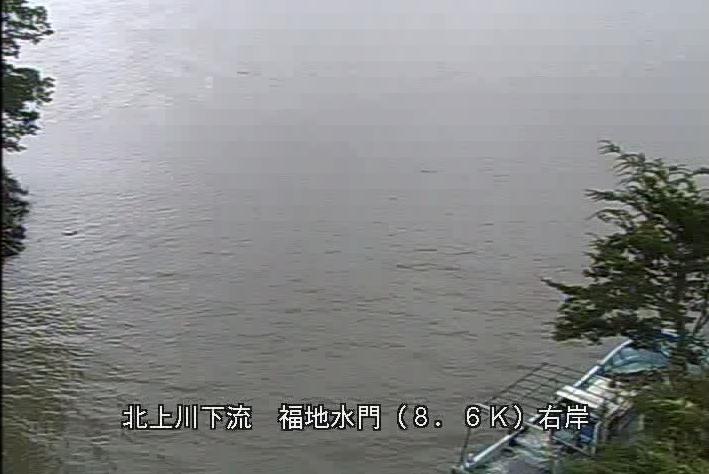 北上川福地水門ライブカメラは、宮城県石巻市福地の福地水門に設置された北上川が見えるライブカメラです。